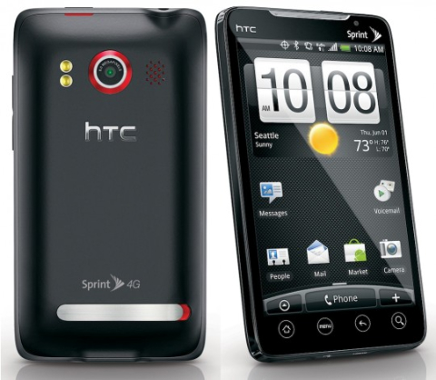 htc�yn�/&_htc evo 4g android smartphone (sprint / clean esn