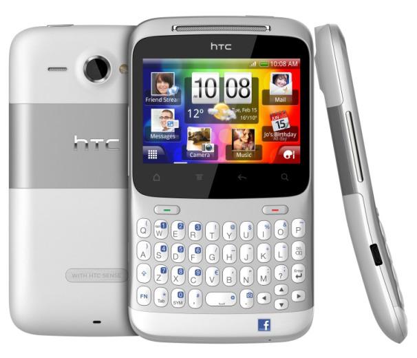 Unlocked HTC Status Cha Cha Smartphone Silver (T-Mobile, Simple