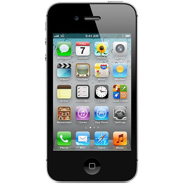 Factory Unlocked iPhone 4 8GB Smartphone (Black/T-Mobile, Simple